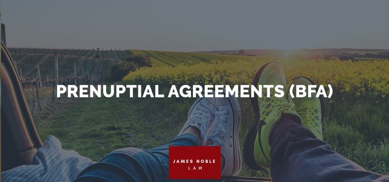 PRENUPTIAL AGREEMENTS (BFA)