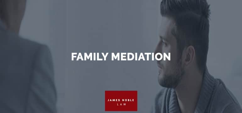 FAMILY MEDIATION and family dispute resolution