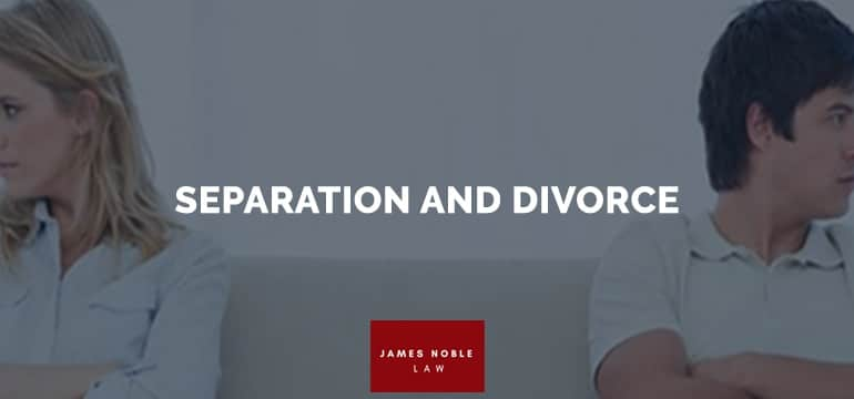 SEPARATION DIVORCE