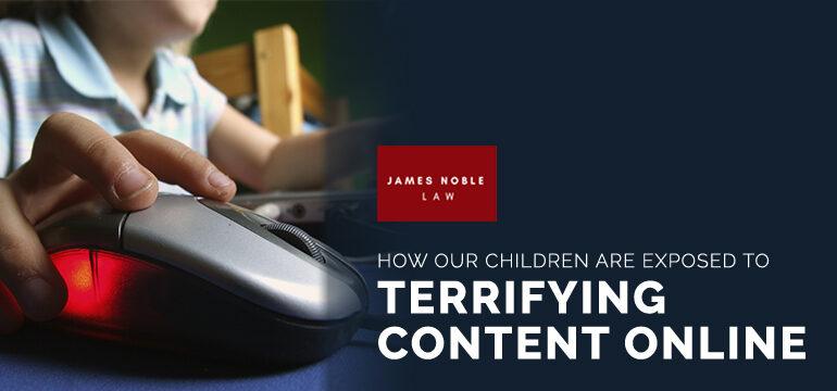 Children Exposed to Terrifying Content Child Custody