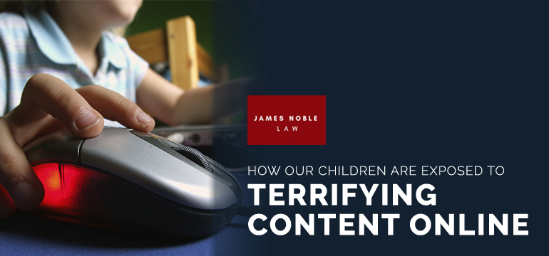 Children Exposed to Terrifying Content Child Custody