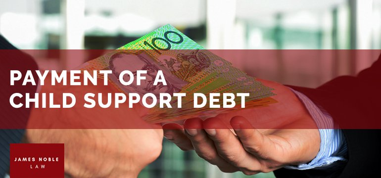 Payment of a Child Support Debt Child Support Lawyers