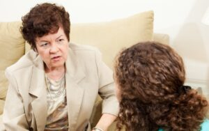 What questions are asked in a family report
