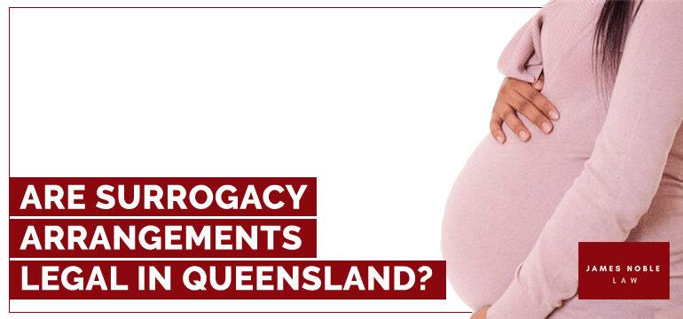Surrogacy act QLD