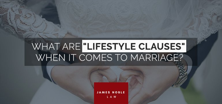 Lifestyle Clauses