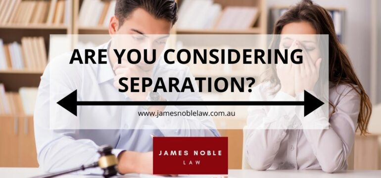Marriage Separation Process in Australia