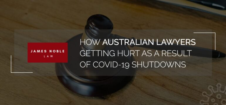 How australian Lawyers getting hurt
