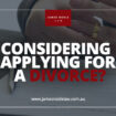 Apply for a Divorce in Australia