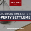 statutory time limits